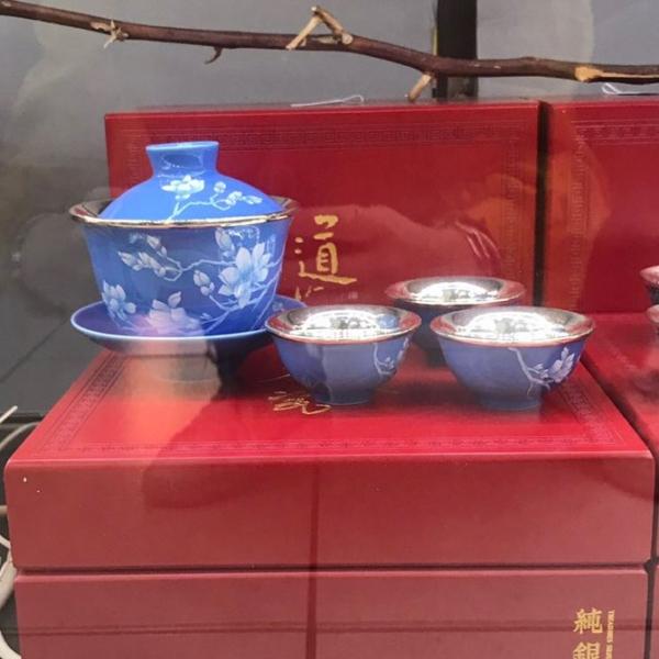 茶具-雪蘭花茶具組