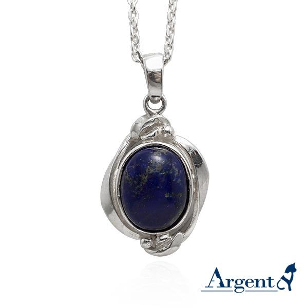 寶石項鍊「菱紋寶鏡」天然寶石純銀項鍊銀飾|銀項鍊推薦 銀項鍊推薦