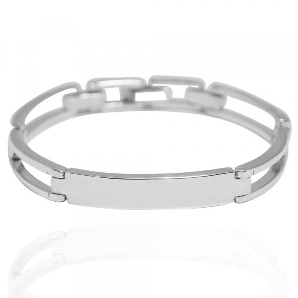 「尋跡(無刻字)」純銀手環(可訂做手圍) 訂做手環