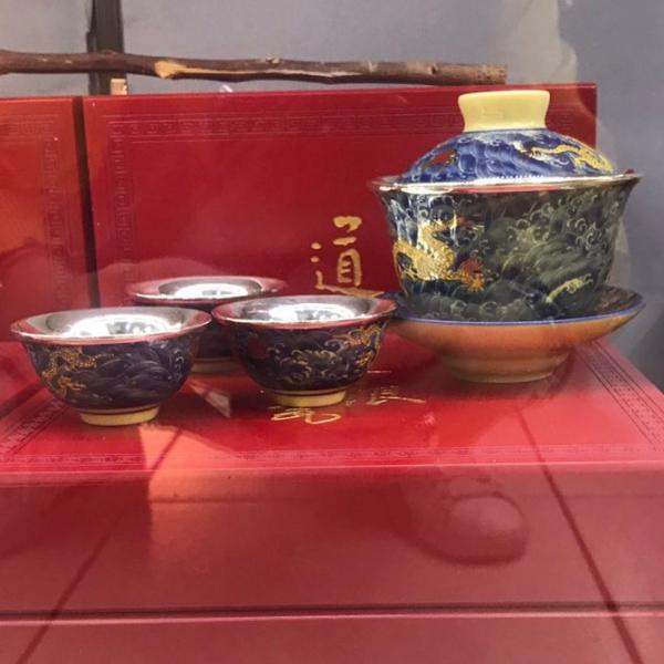 茶具-雙龍馭珠茶具組