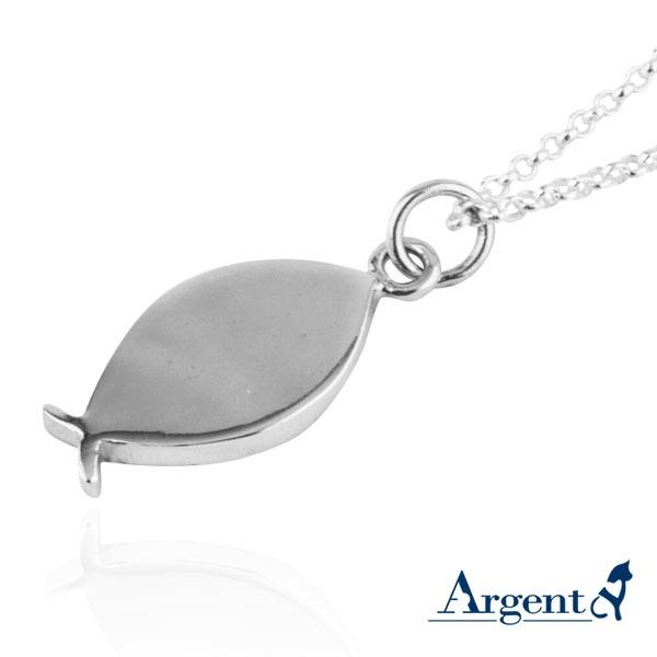 小銀魚可愛造型純銀項鍊銀飾|銀項鍊推薦 銀項鍊推薦