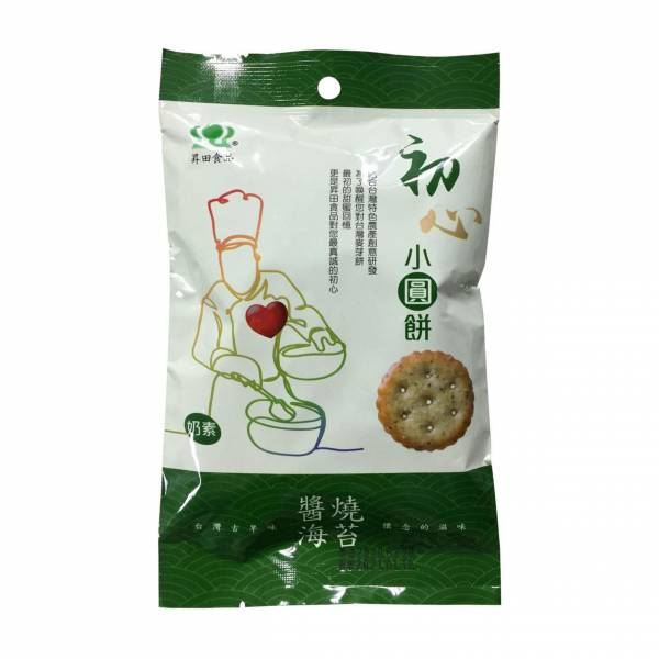 初心小圓餅-醬燒海苔100g