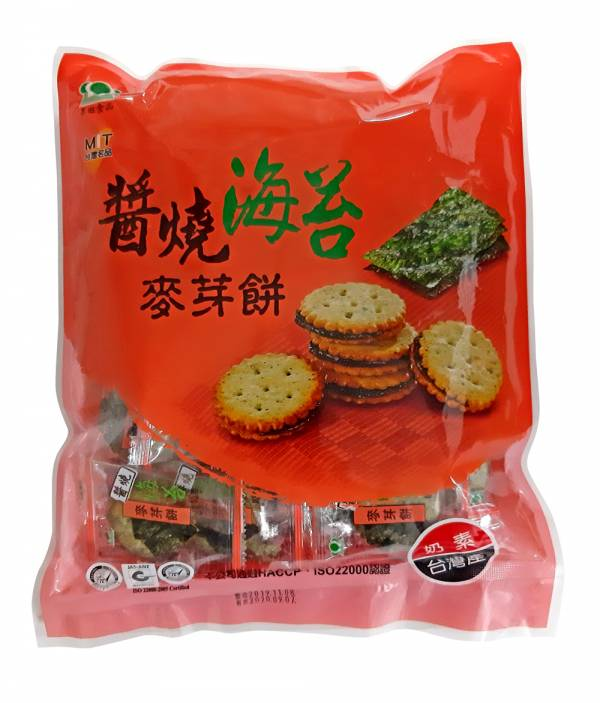 醬燒海苔麥芽餅480g