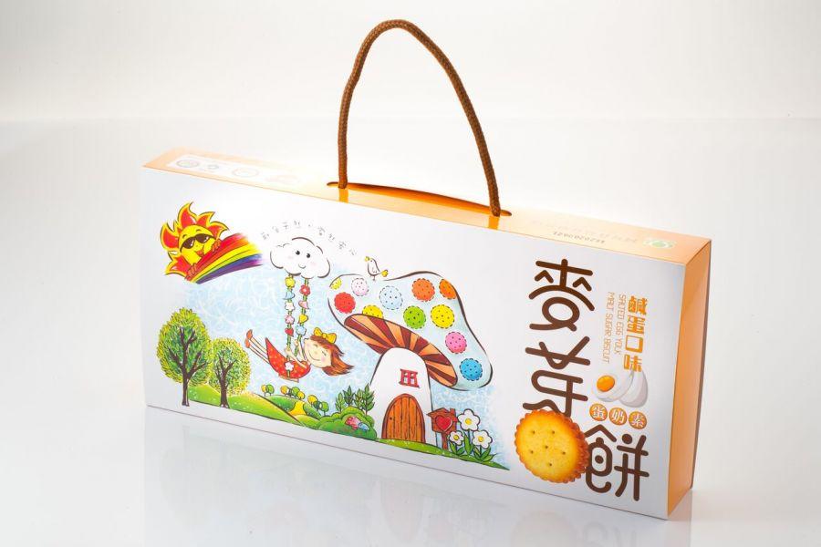 鹹蛋麥芽餅手提禮盒