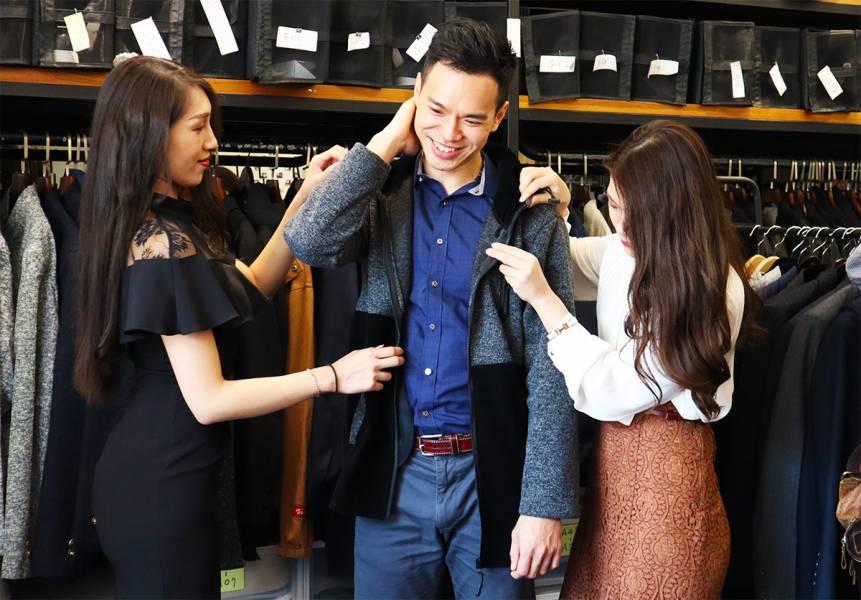 男性穿搭服務(免費體驗活動) 男性穿搭,Fersonal,男裝,穿搭,客製化服裝,西裝