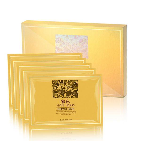 HANROON韓潤 韓潤 魚子精華緊緻修護光透膜5片/盒