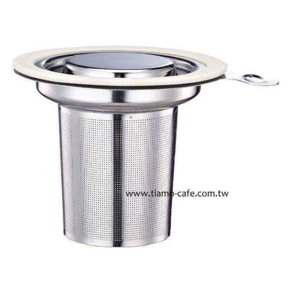 Tiamo tea time 不鏽鋼蓋濾網組 通過SGS 不鏽鋼濾網,不鏽鋼過濾網,不鏽鋼濾茶網,茶葉過濾網