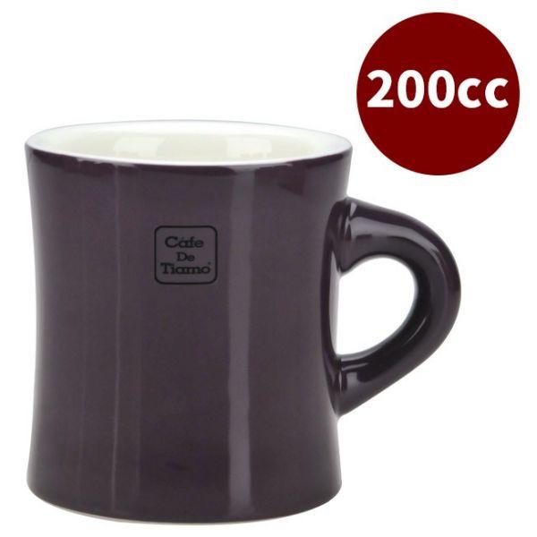 CafeDeTiamo 9號馬克杯 200cc 深紫 咖啡杯,茶杯,陶瓷馬克杯