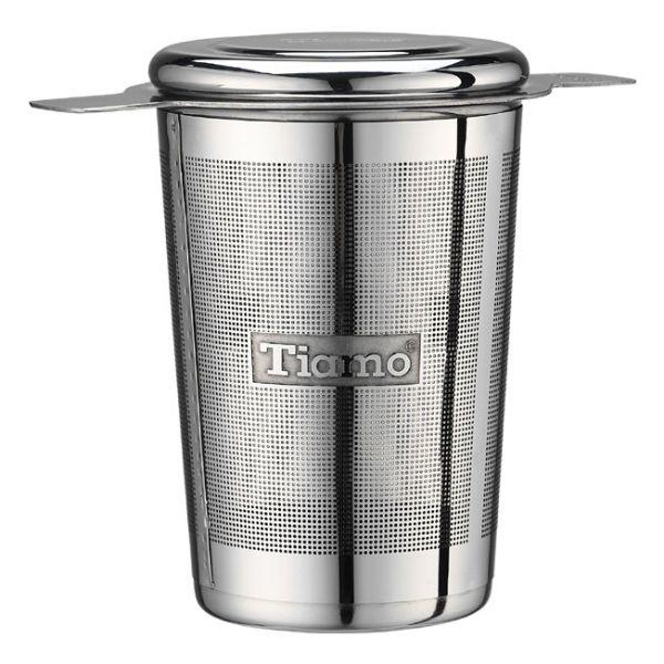 Tiamo 錐型不鏽鋼濾網 (適用各式杯款) 304不鏽鋼濾網,304不鏽鋼過濾網,304不鏽鋼濾茶網,茶葉過濾網