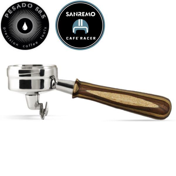 PESADO 雙嘴沖煮把手(拉亞木) PE02LMRaya E61 義式濃縮咖啡機,Espresso沖煮把手,Espresso粉杯