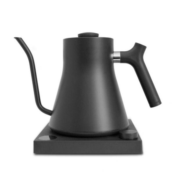 FELLOW STAGG EKG600 電子溫控黑壺 600ml FELLOW STAGG,電子溫控細口手沖咖啡壺,細口壺,滴漏咖啡壺,手沖咖啡壺