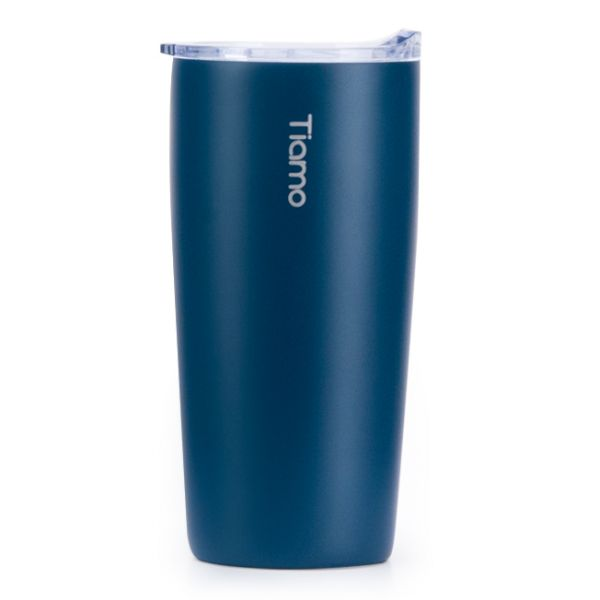 Tiamo 真空陶瓷隨手杯 360ml 藍 保溫杯,保溫瓶,隨手杯,隨行杯,雙層保溫杯,雙層不鏽鋼真空保溫杯