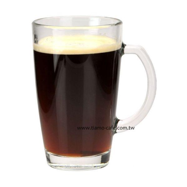 Tiamo MI0375 有柄馬克杯(透明玻璃) 375ml 6入 玻璃杯,飲料杯
