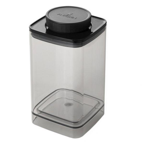 Ankomn Turn-N-Seal TNS-04-LGHB 真空保鮮盒 1.2L 半透明黑 保鮮盒,儲豆罐,密封罐