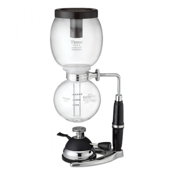 Tiamo RCA-5 虹吸壺 5人份附登山爐 虹吸壺,虹吸咖啡壺,登山爐