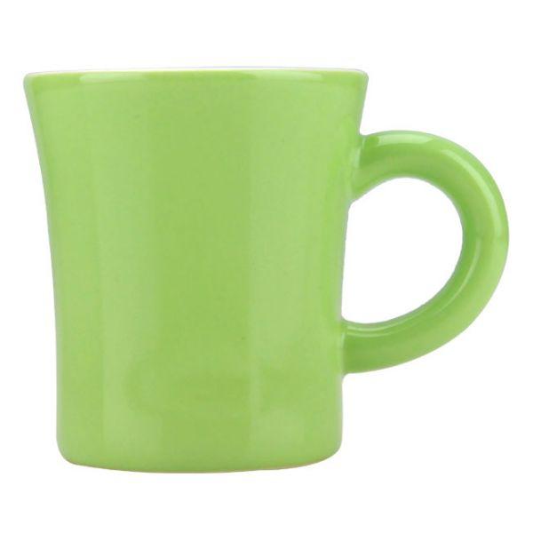 CafeDeTiamo 馬卡龍系列 馬克杯 200cc 淡黃綠色 日本製 馬克杯,陶瓷杯,咖啡杯,茶杯,飲料杯,保溫杯