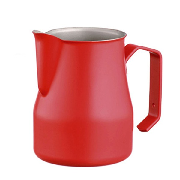 MOTTA 專業拉花杯 奶泡杯 350ml 紅