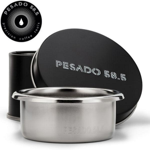 PESADO 58.5mm 雙份粉杯 22g 義式濃縮咖啡機,Espresso沖煮把手,Espresso粉杯