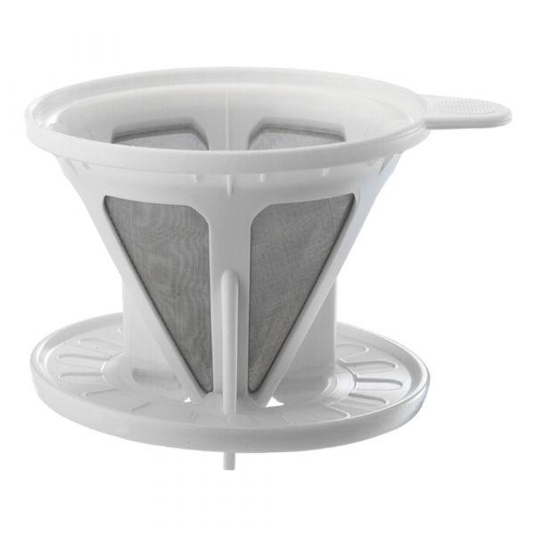 Tiamo 二代極細濾網 濾器免濾紙 共五色 轉接盤可拆 通過SGS檢測 咖啡濾器獨享杯,咖啡濾杯,不鏽鋼濾網,金屬濾網,304高級不鏽鋼
