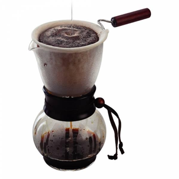 Tiamo DW-3法蘭絨 沖壺 1-4人 份 480cc 法蘭絨咖啡濾布,圓錐形濾杯專用濾布,圓錐咖啡濾布,錐形咖啡濾布,V形咖啡濾布,扇形濾布