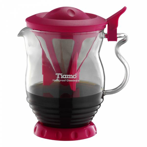Tiamo 極細濾網 分享壺 350ml 通過SGS檢測 不鏽鋼滴漏濾器,不鏽鋼滴漏濾網,環保濾器,咖啡玻璃壺