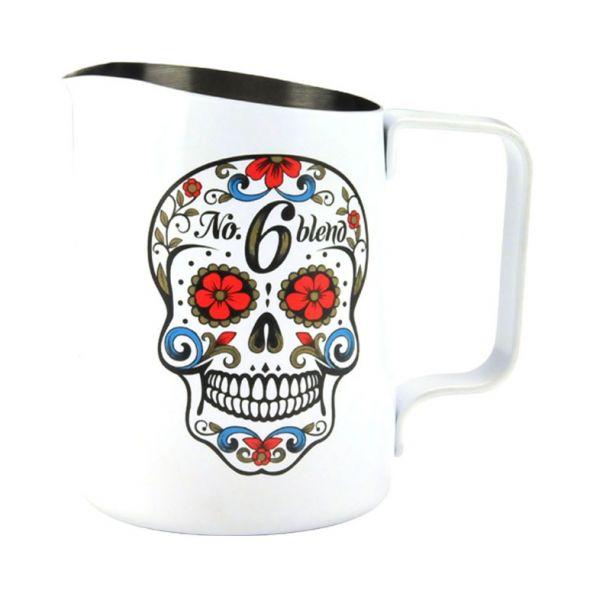Tiamo 斜口拉花杯450CC 尖口設計 知名Melba Coffee合作 450cc拉花杯,斜口拉花杯,尖口拉花杯,尖嘴拉花杯,拉花藝術,拉花美學,#304 18-8 食品級不鏽鋼拉花杯