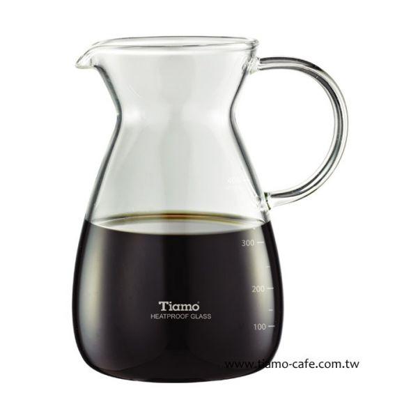 Tiamo IF0047水壺 400ml 通過SGS 玻璃咖啡壺,玻璃咖啡杯,玻璃量杯,
