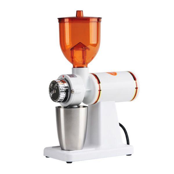 Tiamo 700S 半磅磨豆機-消光白(新色) 義大利刀盤 電動磨豆機,咖啡磨豆機,研磨咖啡豆機器