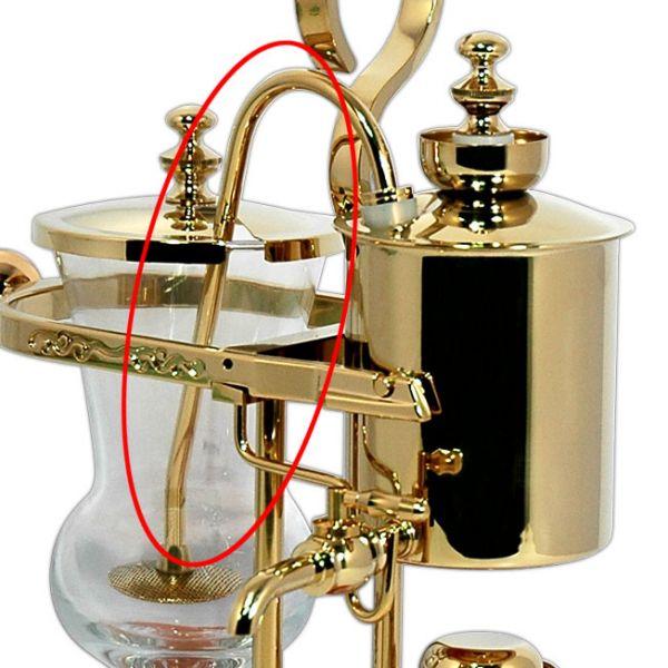 Tiamo 比利時虹吸壺虹吸管 霧金 (不含濾網) 虹吸壺,虹吸壺零件,虹吸壺配件