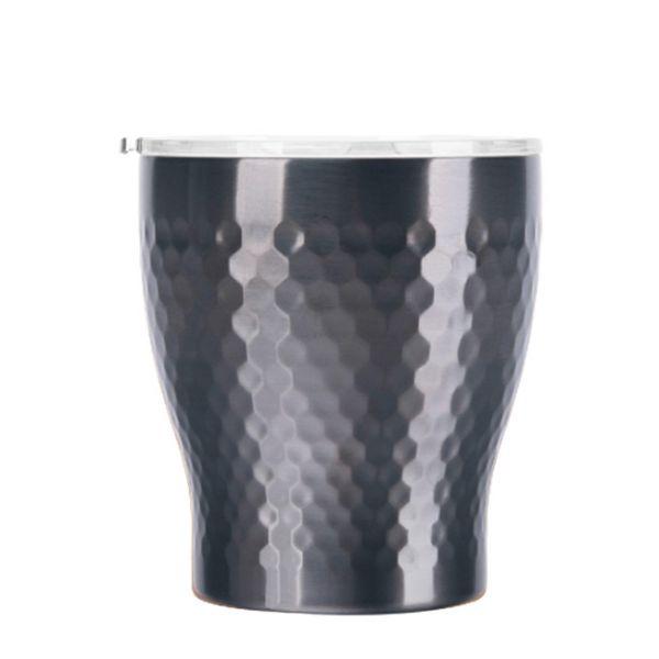 Tiamo 真空錘紋陶瓷杯 230ml 鈦黑 保溫杯,保溫瓶,隨手杯,隨行杯,雙層保溫杯,雙層不鏽鋼真空保溫杯