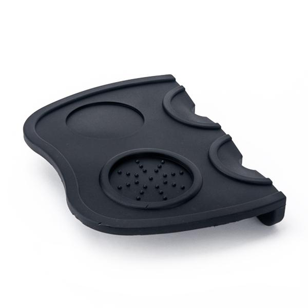 Tiamo 填壓專用防滑雙頭轉角墊 IMS,義大利不銹鋼競賽級咖啡粉杯 18-20g