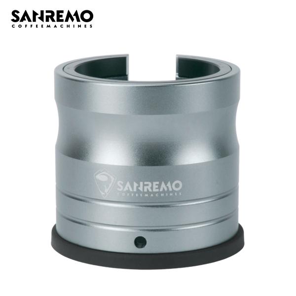 SANREMO 沖煮把手免持壓粉座 閃耀灰 SANREMO,沖煮把手免持壓粉座,沖煮把手,填壓座,壓粉座
