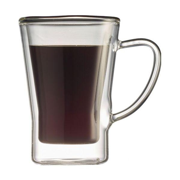 Tiamo 雙層玻璃杯 170cc 2入 玻璃杯,飲料杯,雙層玻璃杯