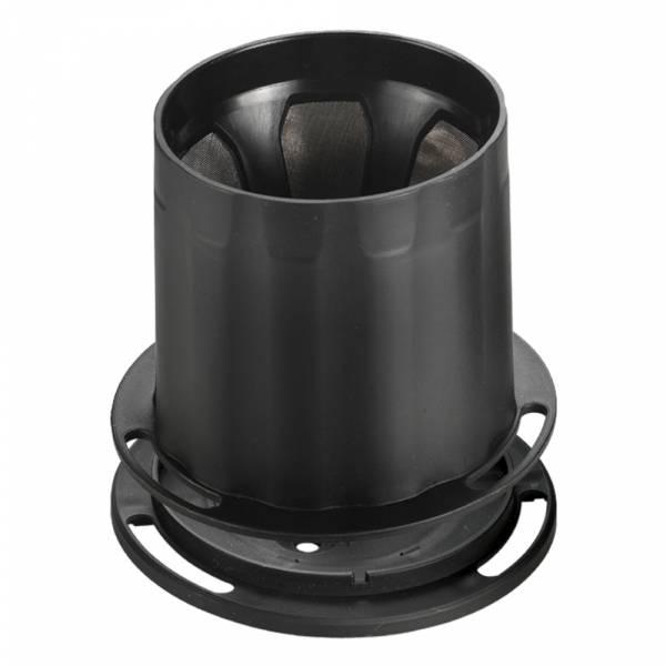 Tiamo UFO-180 不鏽鋼 滴漏濾杯 濾網 1-2人份 (黑) 不鏽鋼滴漏濾器,不鏽鋼滴漏濾網,環保濾器