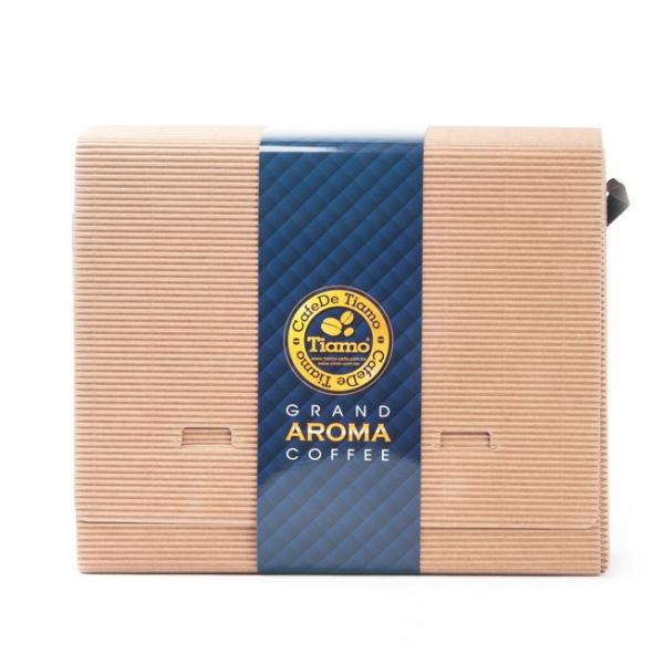 Tiamo 嚴選精品掛耳禮盒60入 藍 精選掛耳超值組,嚴選超值掛耳禮盒,咖啡濾掛禮盒,耳掛咖啡禮盒