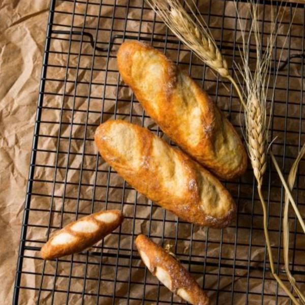 包手作-羊毛氈古早味麵包別針 別針 麵包 羊毛氈