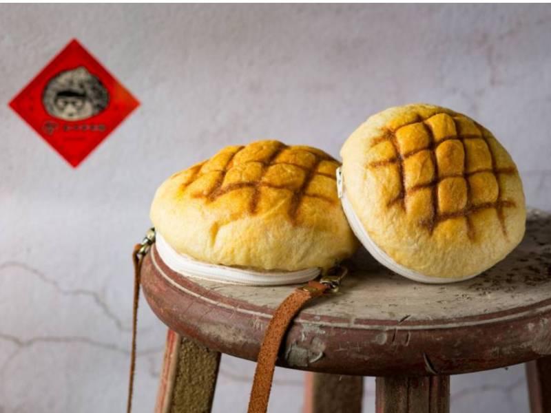 包手作-羊毛氈菠蘿手拿包(含真皮短揹帶) 手拿包 菠蘿 羊毛氈