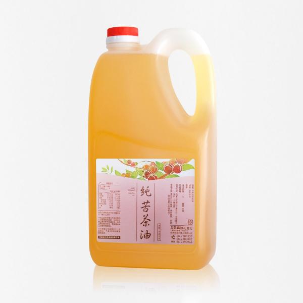 業務用|冷壓純苦茶油 3kg 塑膠桶裝 苦茶油,冷壓苦茶油,苦茶油推薦,料理油,食用油