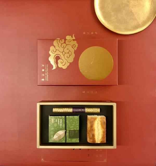 中秋茶香蛋糕禮盒 沈香,東方美人茶,甜點,天華沉香,中秋節,中秋禮盒,臥香禮盒,茶禮盒,甜點禮盒