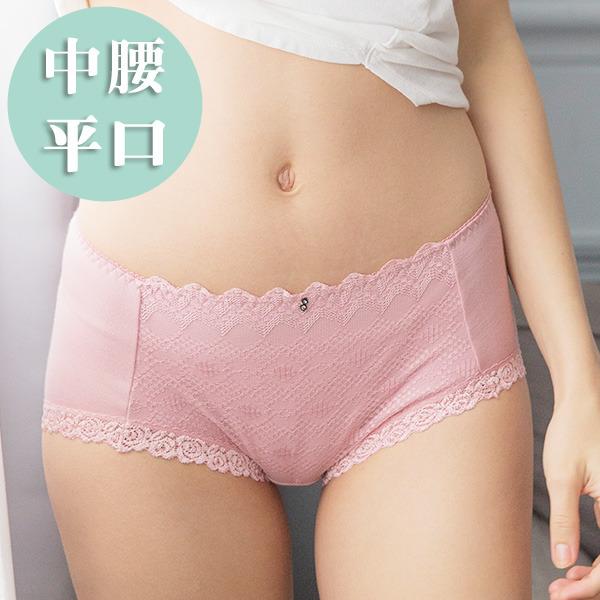 負離子暖宮內褲 / 中腰平口 / 華麗貴族 - 深藍/淺粉/深紫 經痛,舒緩經痛,月經,內褲,負離子內褲
