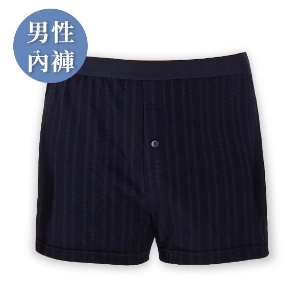 幹勁十足負離子男內褲 / 平口四角前扣式 / 黑 經痛,舒緩經痛,月經,內褲,負離子內褲