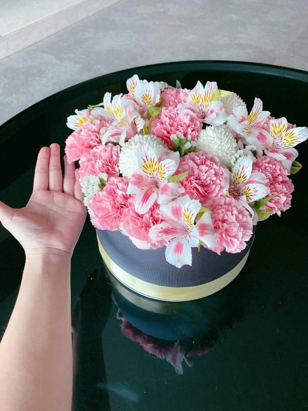 鮮花 康乃馨禮盒花