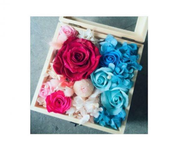 永生花木盒