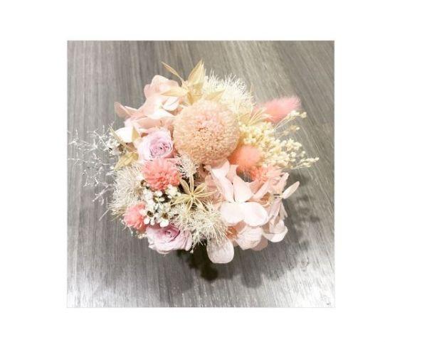 粉紅夢鏡-永恆桌花