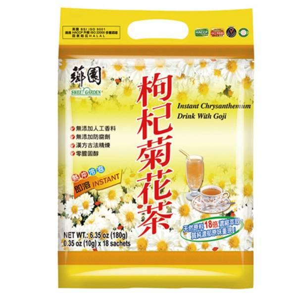 薌園優質養生飲品-枸杞菊花茶(10g x18入)/袋 枸杞菊花茶