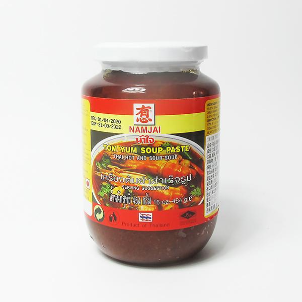 有心酸辣湯醬454公克(NAMJAI) #公雞牌#泰式酸辣湯#冬陰醬,泰式酸辣湯醬,東因醬,泰式酸辣湯