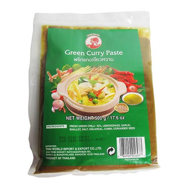【蘋果市集】cock綠咖哩醬(公雞牌) #泰國咖哩醬#青咖哩#綠咖哩#cock