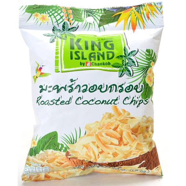 【蘋果市集】泰國天然椰子脆片40g(10包特惠組) 泰國伴手禮,網路最夯零食,泰國零食,椰子脆片,團購美食