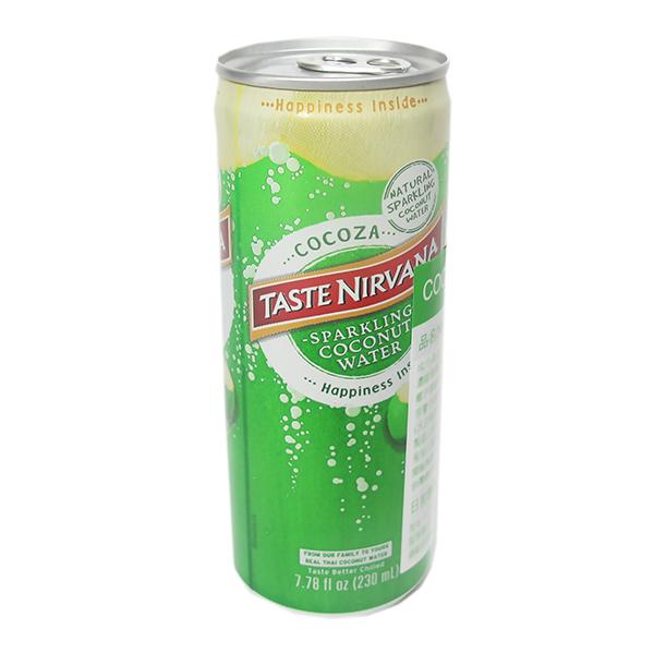 COCOZA NIRVANA 椰子氣泡水24瓶/箱 椰子氣泡水,椰子水,泰國原裝椰子水,泰國果汁,氣泡水