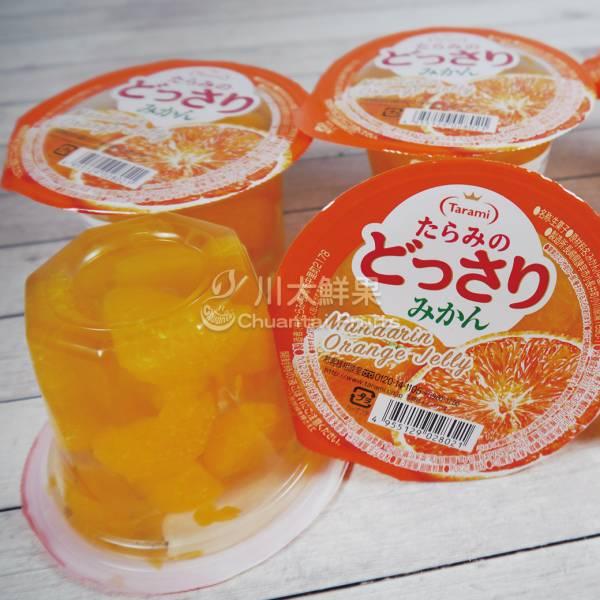 日本生菓子-橘子果凍6顆入(一盒) 日本生果子綜合優格風味果凍,日本果凍,日本進口,日本水果果凍